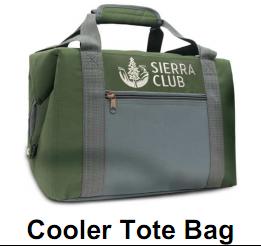 Cooler Tote Bag Sierra Club San Diego